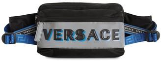 Versace Logo Nylon Belt Bag