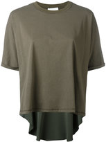 3.1 Phillip Lim short-sleeved top - women - Silk/Cotton/Spandex/Elastane/Viscose - M