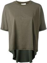 3.1 Phillip Lim short-sleeved top - women - Silk/Cotton/Spandex/Elastane/Viscose - M