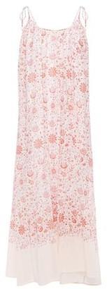 Vanessa Bruno Floral-print Cotton-gauze Maxi Dress