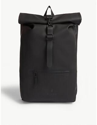 Rains Rolltop water-resistant backpack