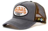 Von Dutch Still Alive Logo Patch Trucker Hat