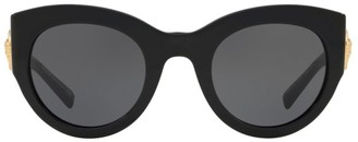 Versace 51MM Cat Eye Sunglasses