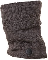 Buff Knitted & Polar Scarf Savva Grey Castlerock
