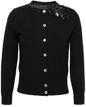 Marc Jacobs (マーク ジェイコブス) - Marc Jacobs Embellished Wool Cardigan