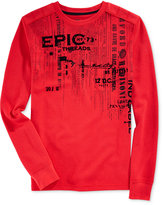 Epic Threads Boys' Long-Sleeve Graphic-Print T-Shirt, Only at Macy's