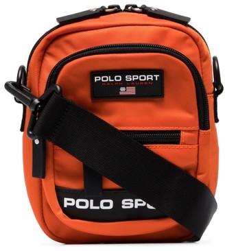 Polo Ralph Lauren Logo Patch Messenger Bag