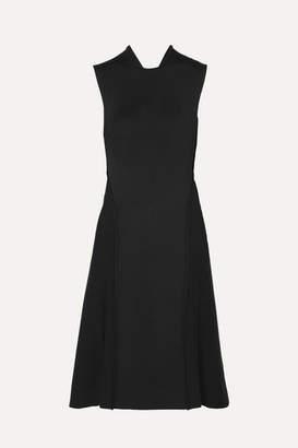 Victoria Beckham Cutout Ponte Dress - Black
