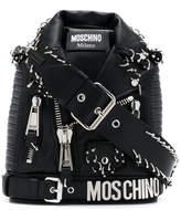 Moschino biker style bag