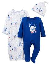 Vitamins Baby Nautical Frenchie 3-Piece Set (Baby Boys)