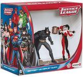 Schleich Batman vs. Harley Quinn Justice League Figurine Set by