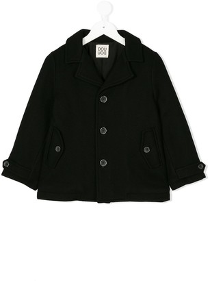 Douuod Kids Button-Down Coat