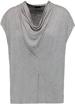 Joseph Draped stretch-jersey top