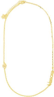 Versace Gold Vintage Logo Necklace