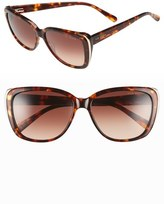 Ted Baker 56mm Oversized Sunglasses