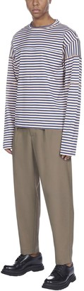 Marni Striped Ls Short Sleeve T-shirt