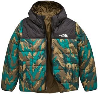 The North Face Reversible Perrito Jacket - Camo/Khaki