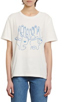 Sandro Maine Embroidered T-Shirt