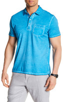 Toscano Short Sleeve Polo With Chest Pocket