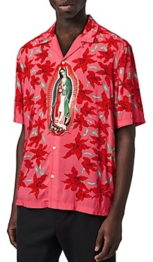AllSaints Slim Fit Guadalupe Shirt