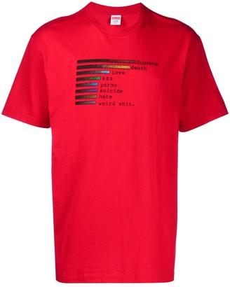Supreme Chart T-shirt