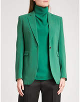 Joseph Single-breasted woven jacket
