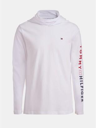 Tommy Hilfiger TH Kids Face Mask Long Sleeve T-Shirt