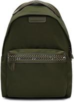 Stella McCartney Green Nylon Chain Backpack