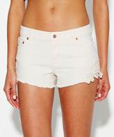 Don't Ask Amanda Lace Applique Short Bone