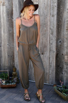 Tysa Claudette Jumpsuit In Olive