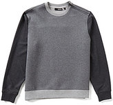 Murano Manhattan Collection Color Blocked Long-Sleeve Crew