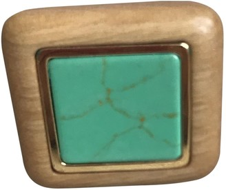 Aurelie Bidermann Camel Wood Rings