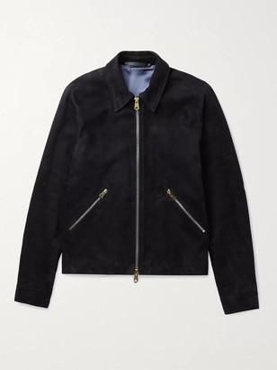 Paul Smith Slim-Fit Suede Blouson Jacket