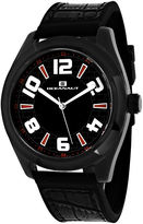 Oceanaut Vault Mens Black Silicone Strap Watch