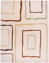 Warp & Weft - Stacks Beige Wool Rug