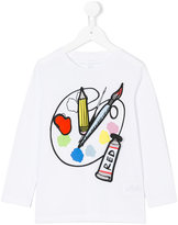Stella McCartney paint print top