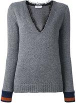Aviu lace v-neck jumper