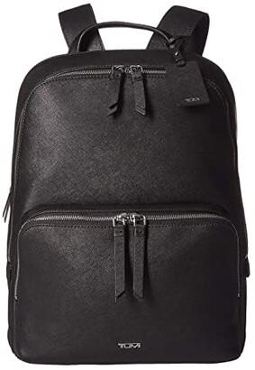 Tumi Varek Hudson Backpack (Black) Backpack Bags