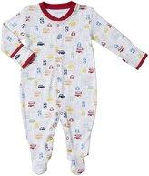 Jo-Jo JoJo Maman Bebe London City Footie (Baby) - Red-6-12 Months