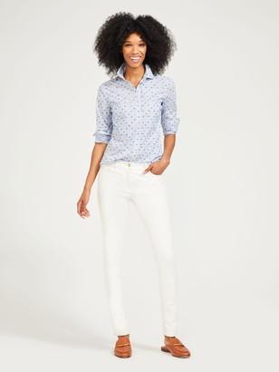 J.Mclaughlin Lois Shirt in Stripe Clip Dot