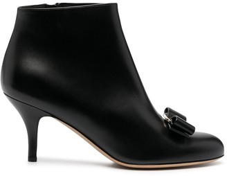 Salvatore Ferragamo Vara bow boots