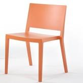 Kartell Lizz Matt Side Chair (Set of 2 Color: Orange