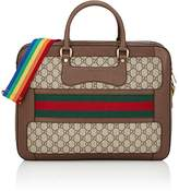 Gucci Men's GG Supreme Slim Briefcase