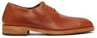 Guidi Full-grain Leather Oxford Shoes - Mens - Brown
