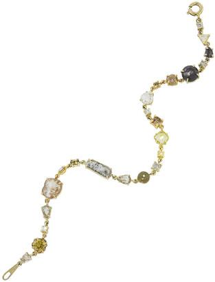 Sharon Khazzam Natural Diamond Yellow Gold Baby Bracelet