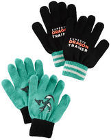 Osh Kosh 2-Pack Dragon Gloves