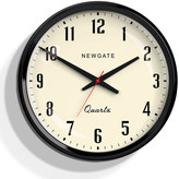 Newgate Clocks - Large Mechanic Clock - Black