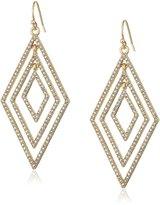 Jessica Simpson Multi-Diamond Earrings Drop Earrings