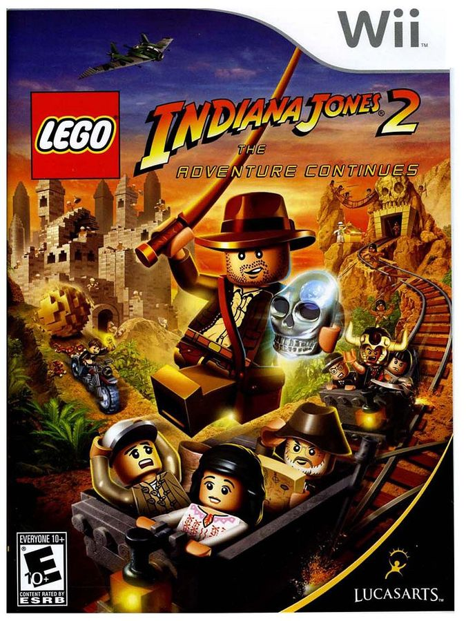 Nintendo wii TM lego ® indiana jones TM 2: the adventure continues