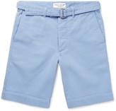 Officine Generale - Julian Cotton-twill Shorts
